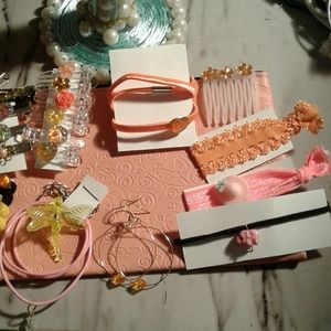 Purse and jewelry  hair accessories bundle 20pcs